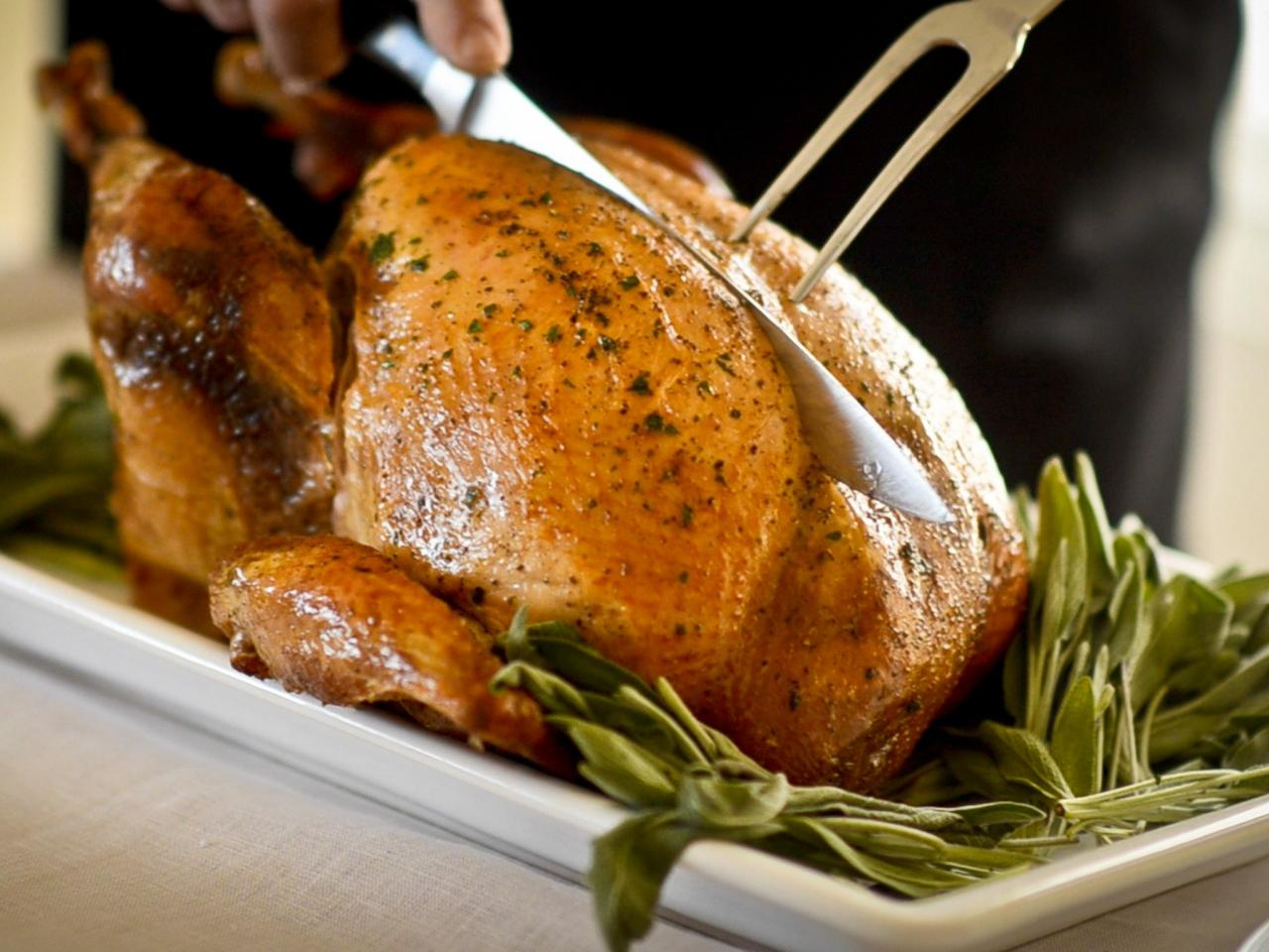 Herb Roasted Turkey and Gravy Recipe | Entertaining Ideas & Party ...