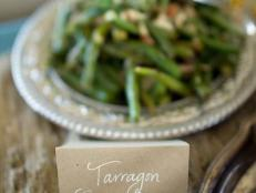 Tarragon Green Beans With Almonds