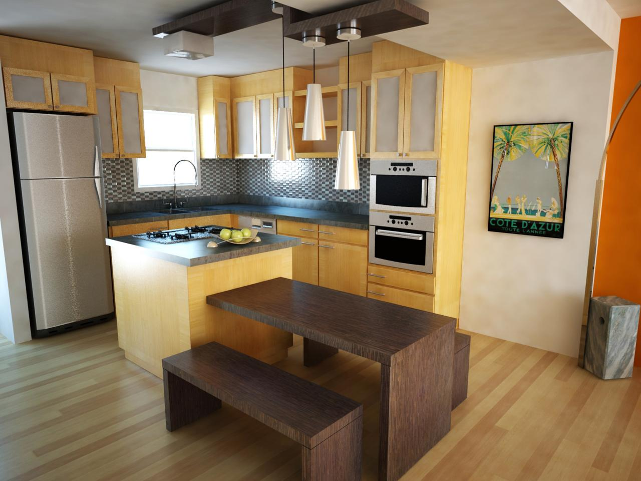 Kitchen Layout With Island Small Kitchen Island Ideas Pictures Tips From Hgtv Hgtv
