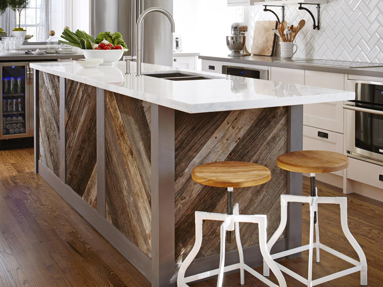 Unfinished kitchen islands pictures ideas from hgtv hgtv for Kitchen island designs plans
