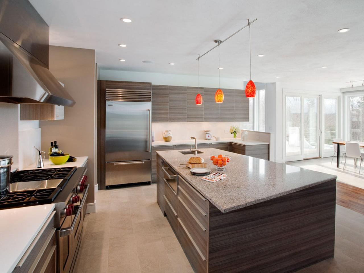 Modern Kitchen Doors kitchen cabinet door styles: pictures & ideas from hgtv | hgtv