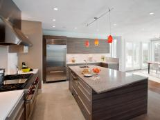 Modern Chef Kitchen With Commercial-Grade Appliances