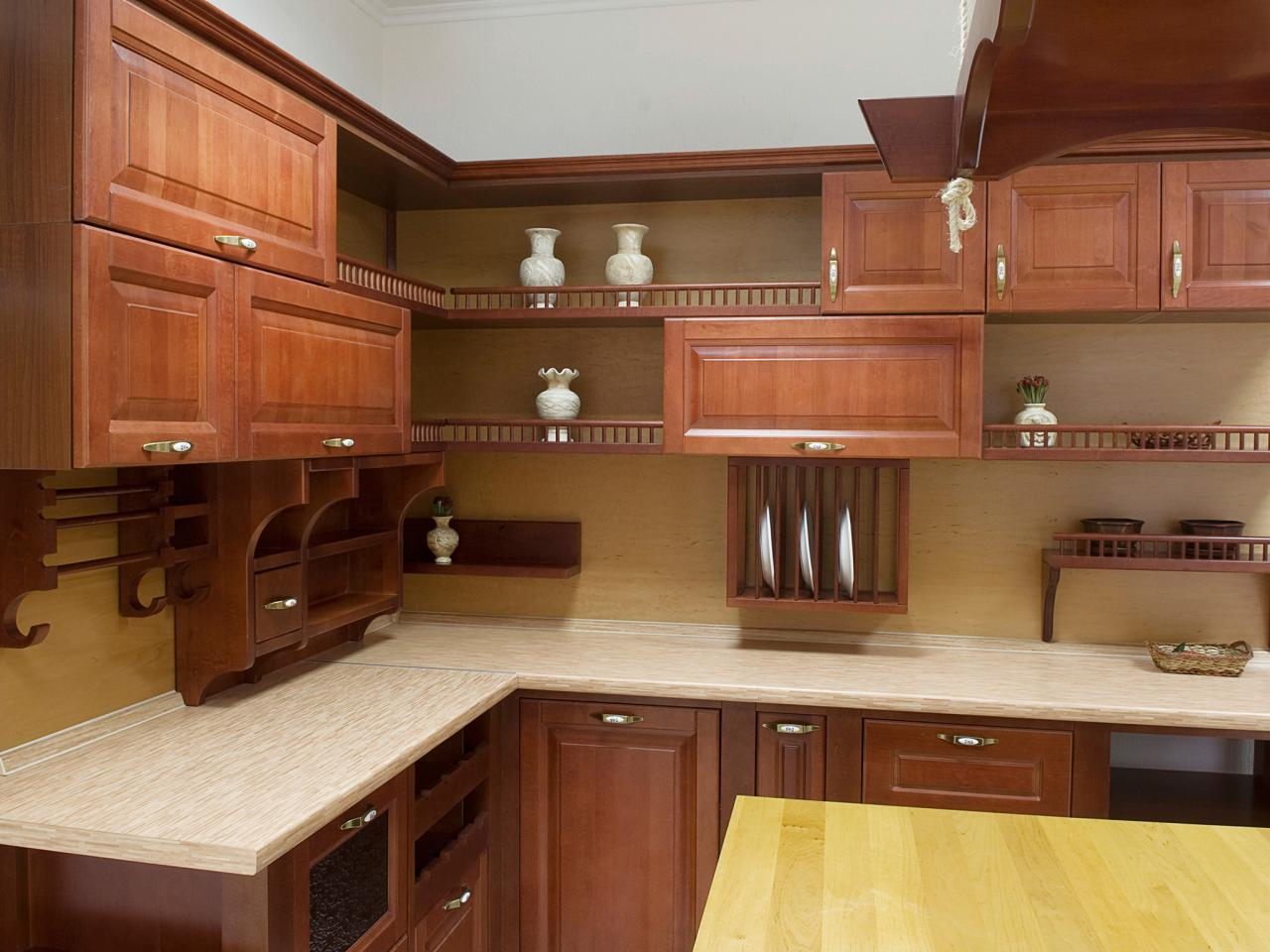 Open kitchen cabinets pictures ideas tips from hgtv hgtv for Cabinet and countertop design