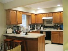 Kitchen Cabinets Facelift resurfacing kitchen cabinets: pictures & ideas from hgtv | hgtv