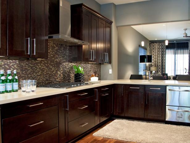 Espresso Kitchen Cabinets Pictures Ideas amp Tips From HGTV