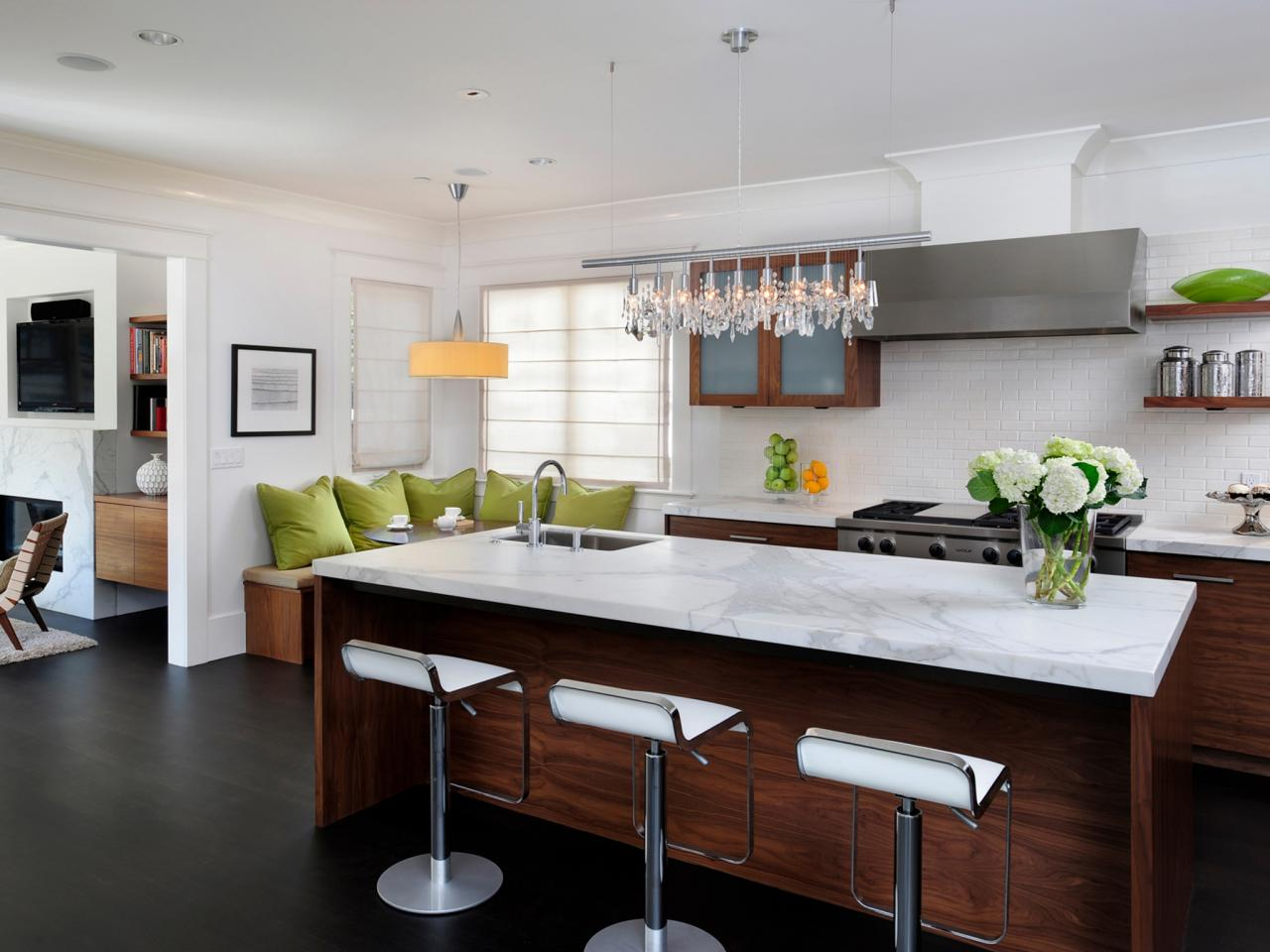 modern kitchen islands: pictures, ideas & tips from hgtv | hgtv