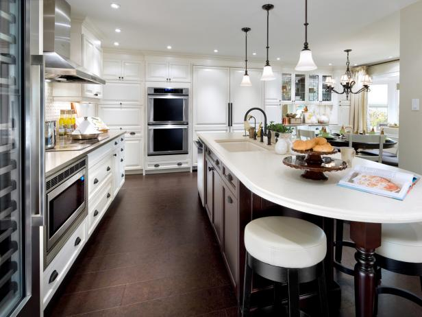 White Kitchen Island Ideas white kitchen islands: pictures, ideas & tips from hgtv | hgtv
