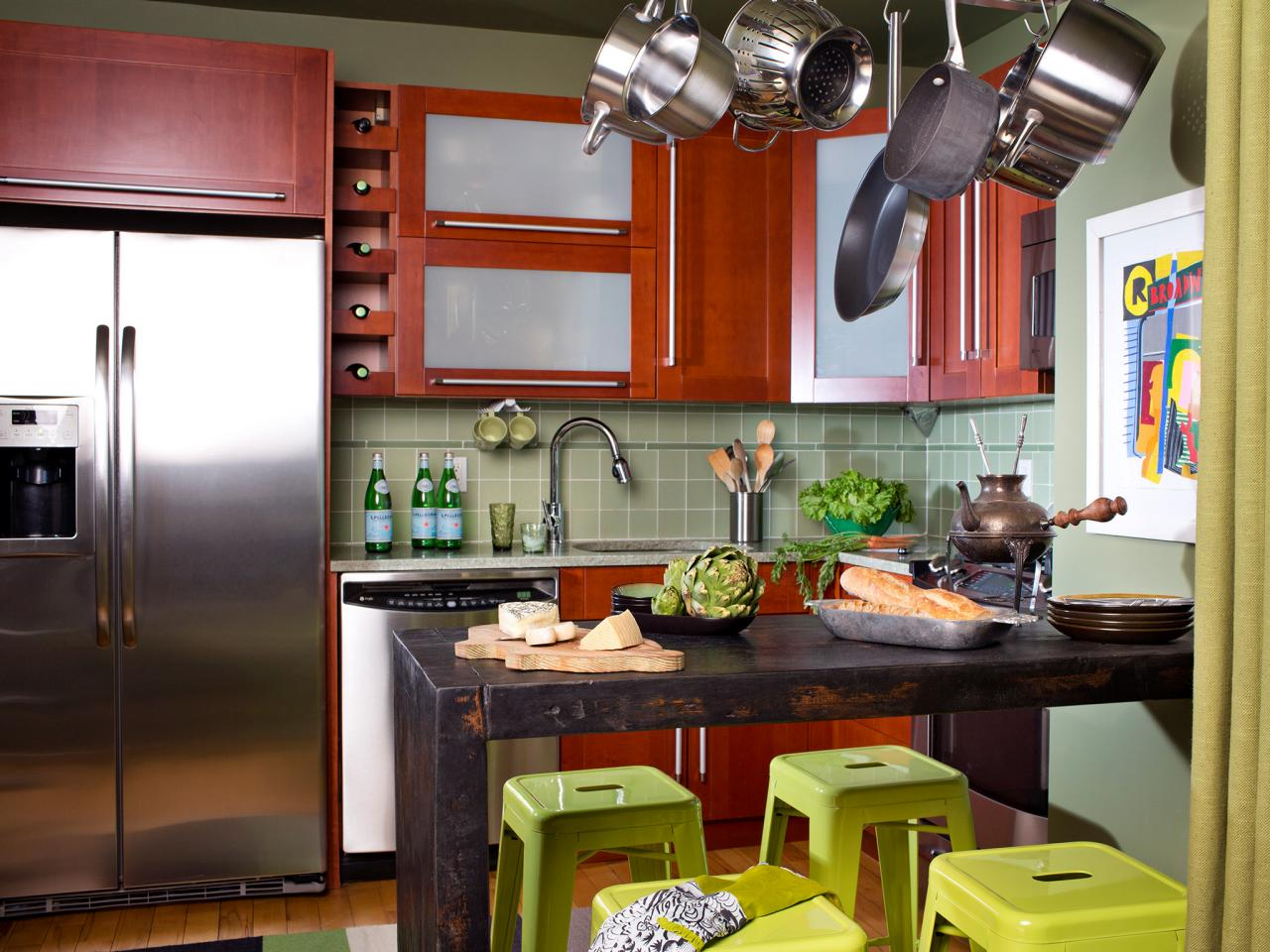 Small eat in kitchen ideas pictures tips from hgtv hgtv Small kitchen dining area ideas