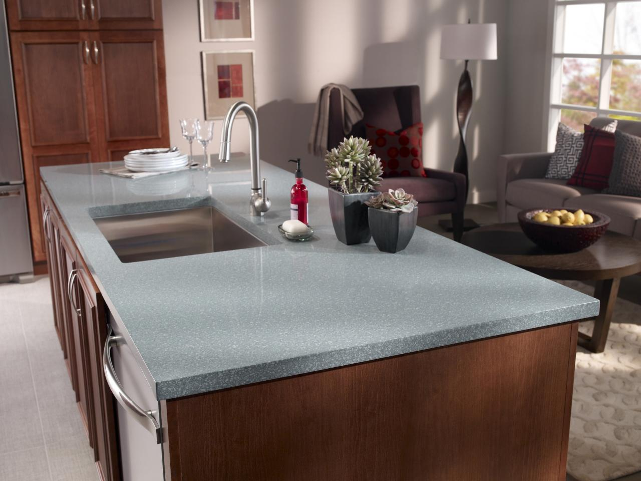 Corian kitchen countertops pictures ideas tips from for Kitchen countertops