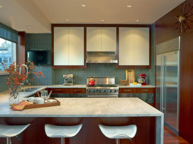 Marble Kitchen Countertops: Pictures & Ideas From Hgtv | Hgtv
