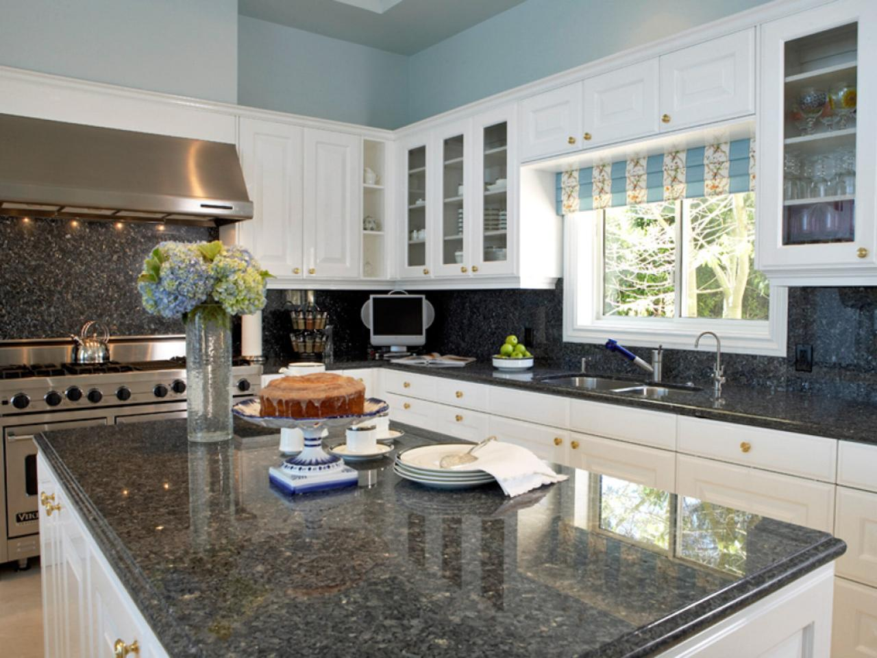 Popular kitchen countertops pictures ideas from hgtv hgtv - Granite kitchen design ...