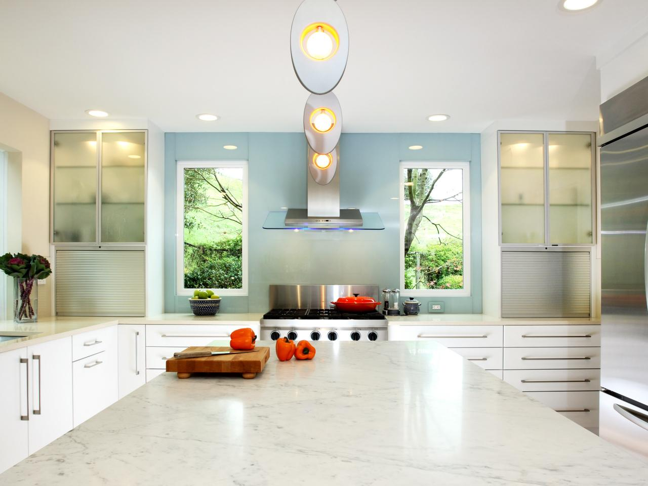 White Kitchen Countertops: Pictures & Ideas From HGTV