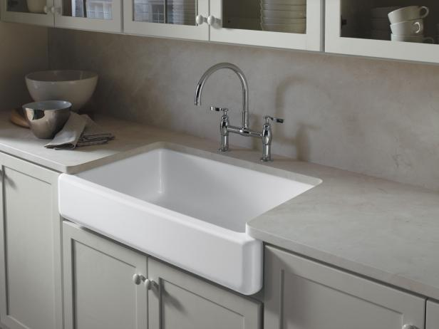 Bathroom Countertop Surface Options : Kitchen Countertop Ideas & Pictures HGTV
