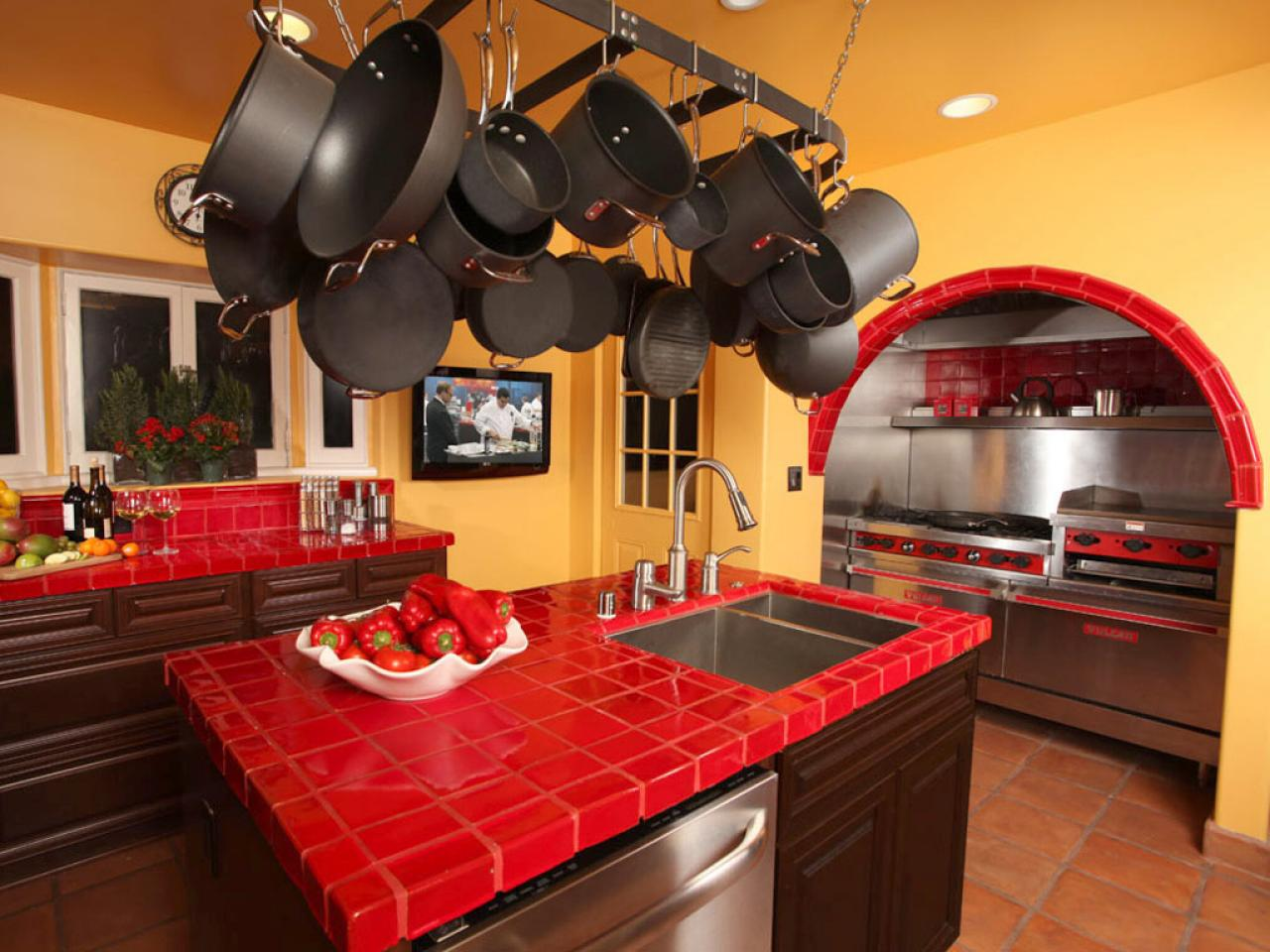 Tile Kitchen Countertops Tile Kitchen Countertops Pictures Ideas From Hgtv Hgtv