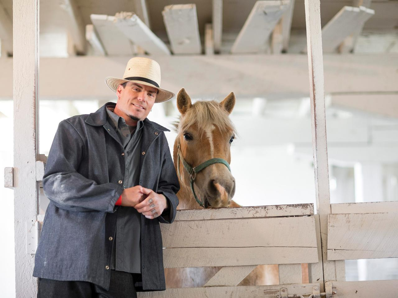 vanilla ice goes amish | hgtv