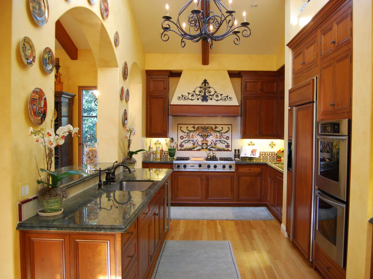 Wonderful Galley Kitchen Designs Good Looking