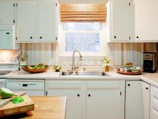Blacksplash Ideas inexpensive kitchen backsplash ideas + pictures from hgtv | hgtv