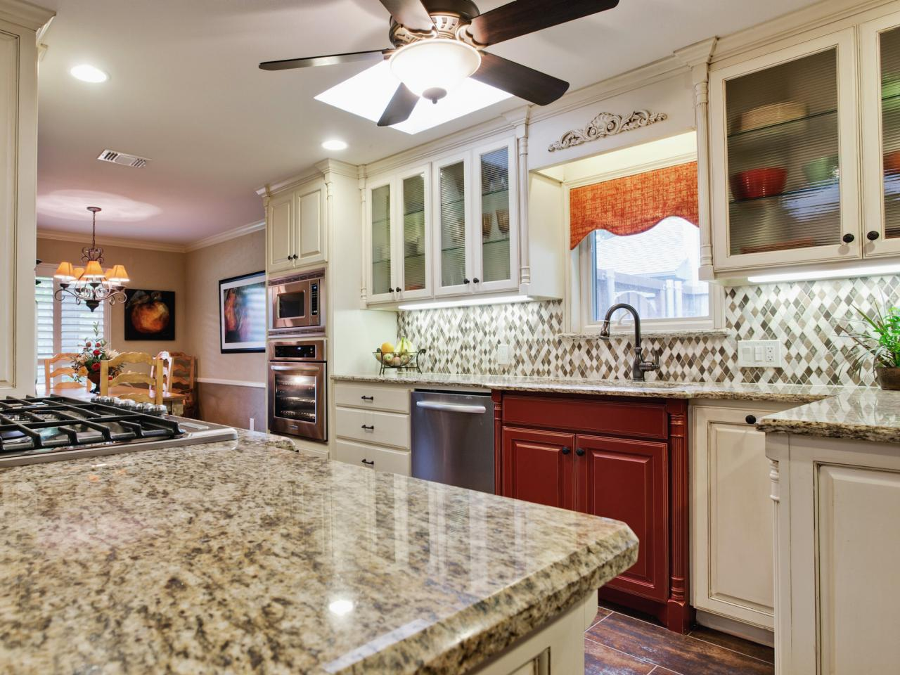 Countertop Ideas backsplash ideas for granite countertops + hgtv pictures | hgtv