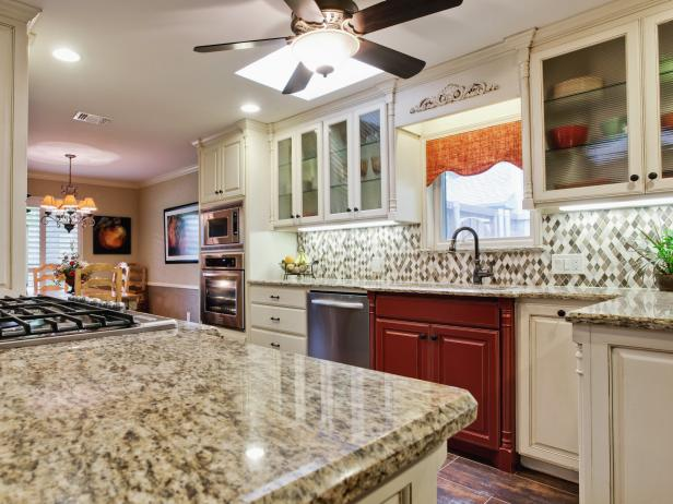 Kitchens With Backsplash Cool Backsplash Ideas For Granite Countertops  Hgtv Pictures  Hgtv Design Ideas