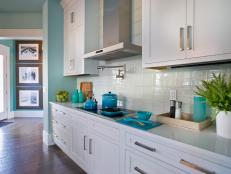 glass tile backsplash ideas - Kitchen Tiling Ideas