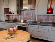 Kitchen Backsplash metal backsplash ideas | hgtv