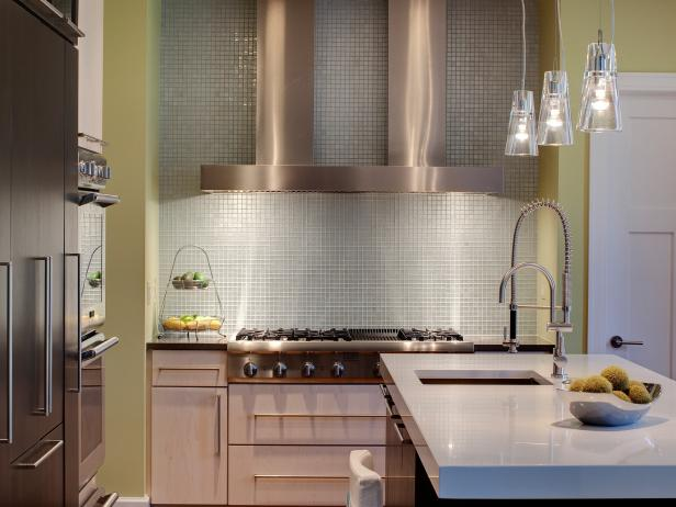 Modern Kitchen Backsplash modern kitchen backsplashes: pictures & ideas from hgtv | hgtv