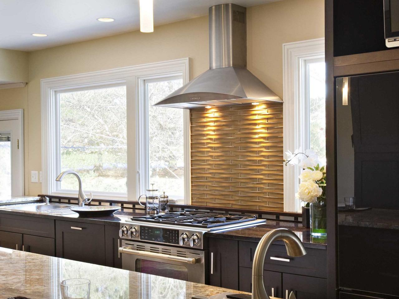 kitchen stove backsplash ideas: pictures & tips from hgtv | hgtv