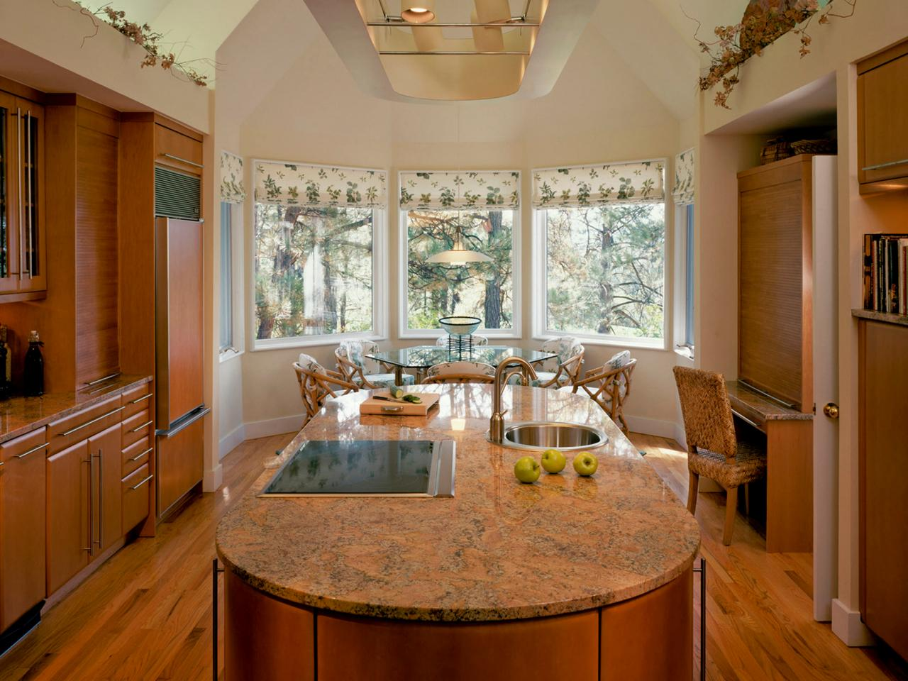 Kitchen bay window ideas pictures ideas tips from hgtv for Bay window remodel