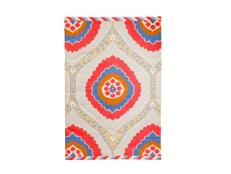 Colorful and Neutral Patterned Area Rug