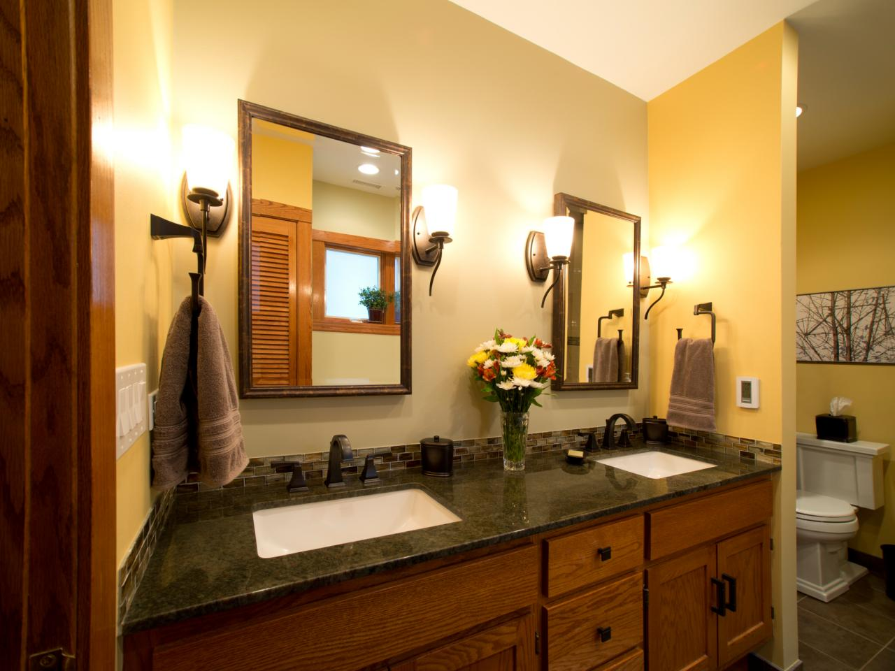 Zen Arts And Crafts Bathroom Nancy Snyder Hgtv