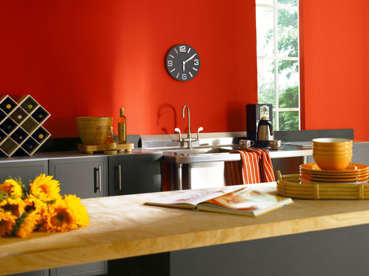 Popular Paint Colors For Kitchens modern kitchen paint colors: pictures & ideas from hgtv | hgtv