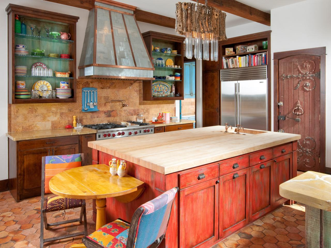 Rustic Mexican Kitchen Design Ideas ~ Tuscan kitchen paint colors pictures ideas from hgtv