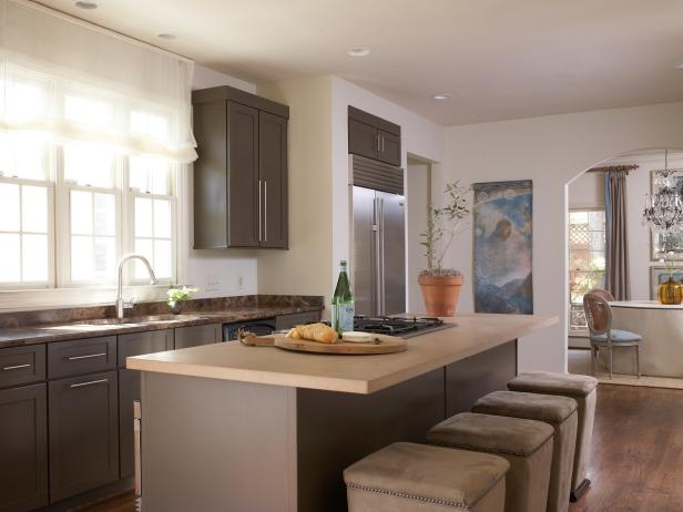 Warm paint colors for kitchens pictures ideas from hgtv for Room design 4x3