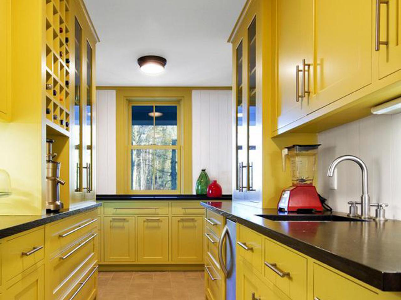 Yellow Paint For Kitchens Pictures Ideas Amp Tips From