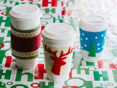Christmas Coffee Koozies
