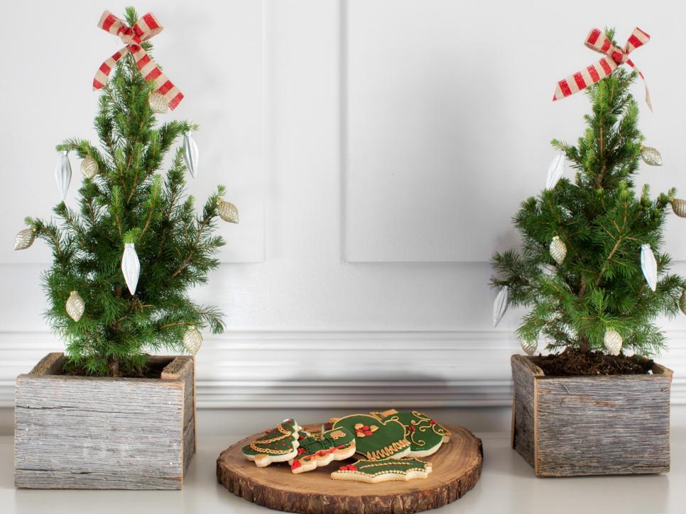 denim leather stockings - Holiday Decorations
