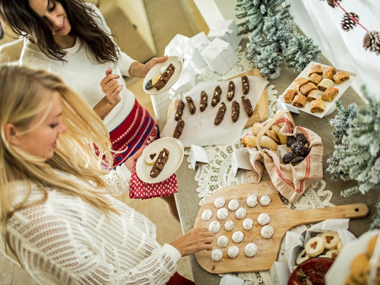 Around-the-World Cookie Exchange