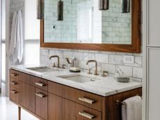 Bathroom Vanity Top Ideas bathroom countertop ideas | hgtv