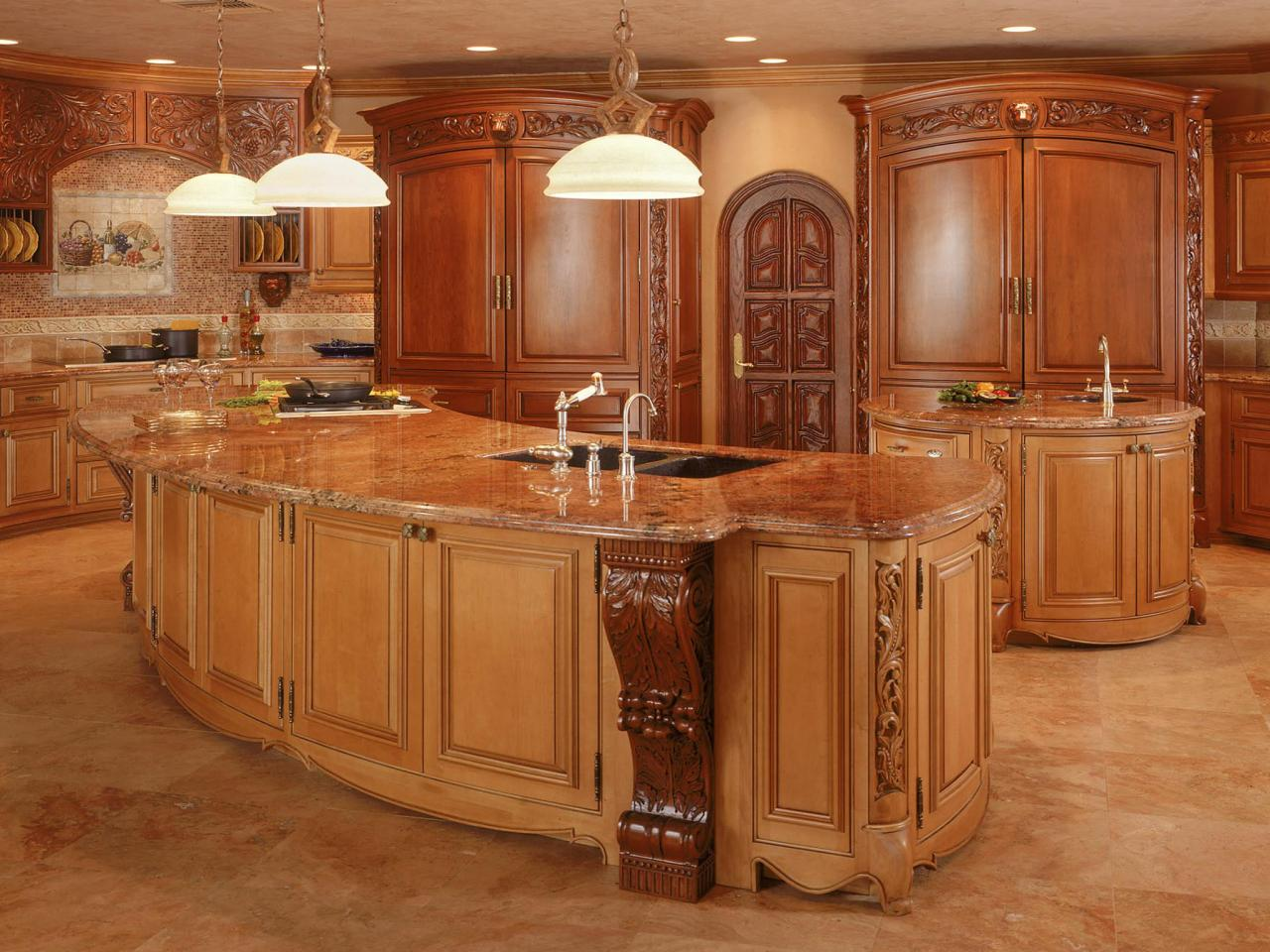 Victorian kitchen design pictures ideas tips from hgtv for Beautiful kitchen units designs