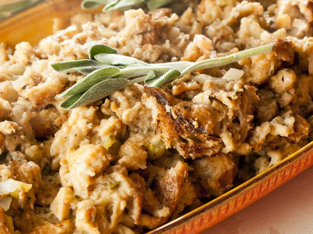 Wild Mushroom, Herb and Pecan Stuffing