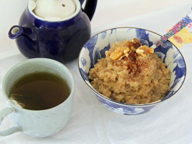 Banana Bread Quinoa Cereal