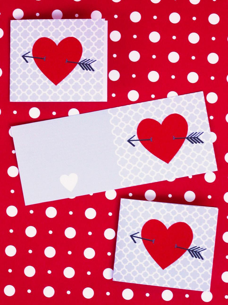 Handmade Valentines Day Cards – Valentine Heart Card