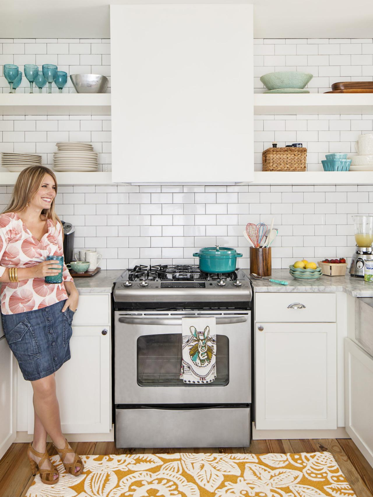 Small Galley Kitchen Ideas & Tips From HGTV