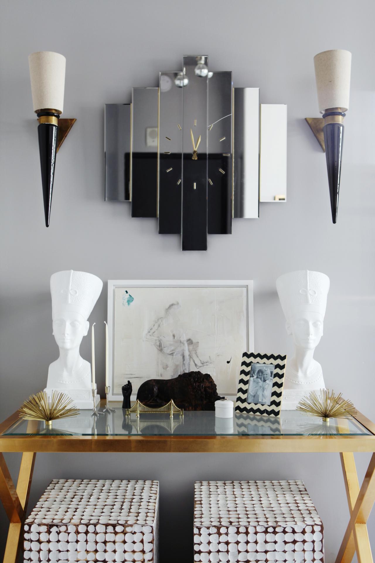 Foyer Art Deco : Photo page hgtv