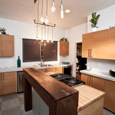 Sleek, Contemporary Kitchen
