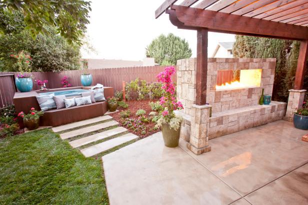 Backyard Spa Retreat