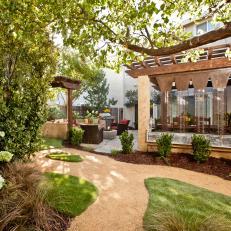 Elegant Backyard Garden