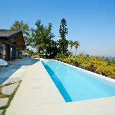 Midcentury Modern Hollywood Home With Pool