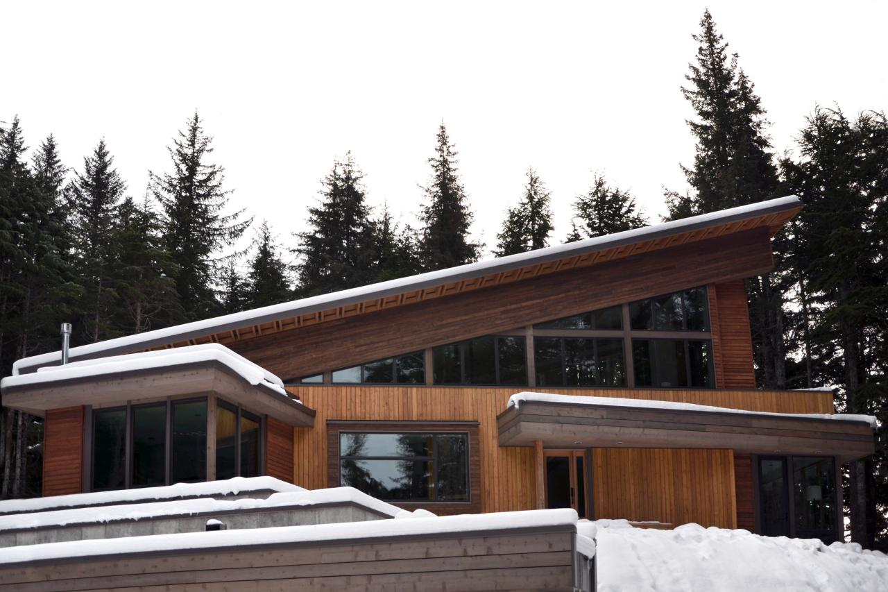 Modern Mountain Architecture Behind The Build Diy Network Blog Cabin 2015 Hgtv