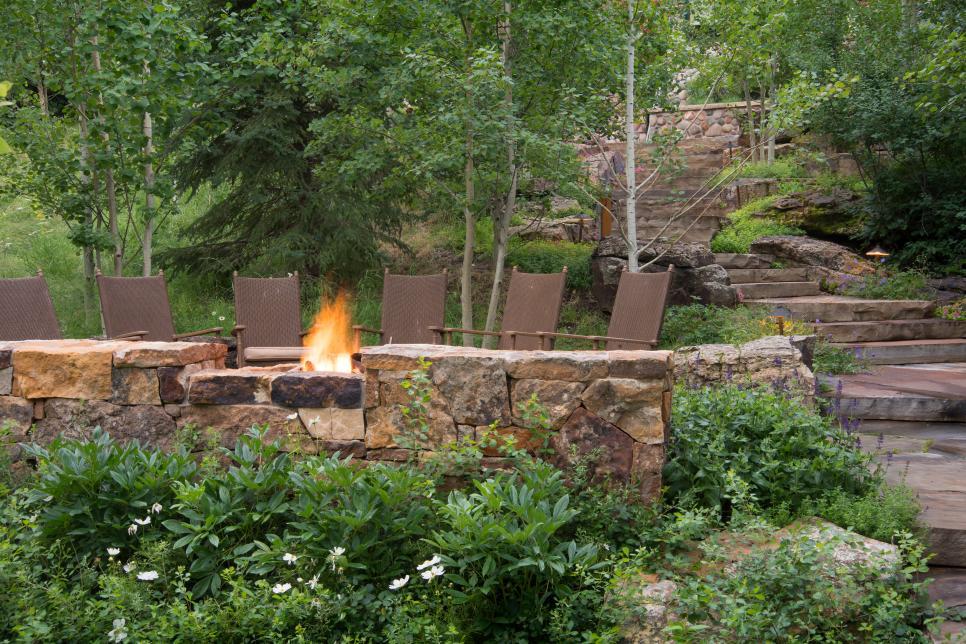 Rugged Riverside Garden Oasis 2014 HGTV